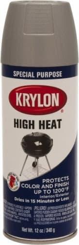 Krylon 12 oz Black High Heat Stove Paint