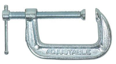 Adjustable Clamp Style No. 1400 C-Clamp, 2-in Max Opening
