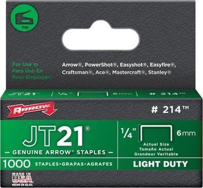 1/4'' Light Duty Stapes