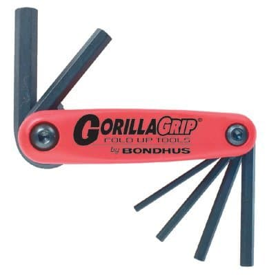 1.5mm-6mm Gorilla Grip Fold-Up Hex Key
