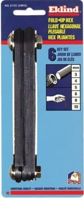 Metric Fold Up Key Set