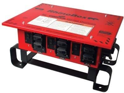 RhinoBox 50A Power Center Duplex