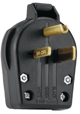 Cooper Wiring Plugs and Receptacle, 50 Amps