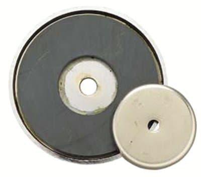 3 /14'' Shallow Pot Ceramic Magnet