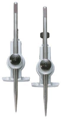 Adjustable Trammels With Eccentric Points