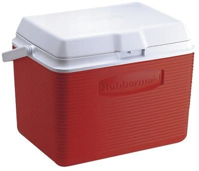 High Capacity Ice Chest with Superior Thermal Retention