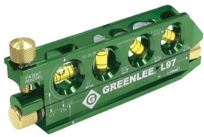 Greenlee Miniature Magnetic Laser Level With No Dog
