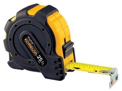 """1""""X25' Mag Grip Magnetic Hook Tape Measure"""