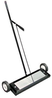 24'' Steel Magnetic Floor Sweeper with Release
