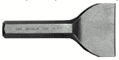 Hex Stock Alloy Steel Brick Set Chisel with Beveled Tip