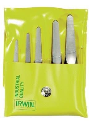 Irwin Straight Screw Extractor Set #1-#5