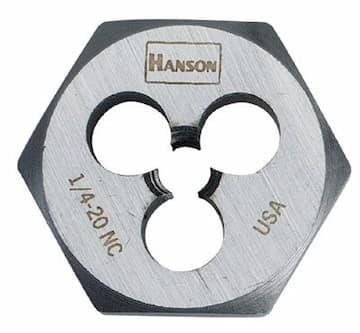 3/8'' High Carbon Steel Fractional Hexagon Dies