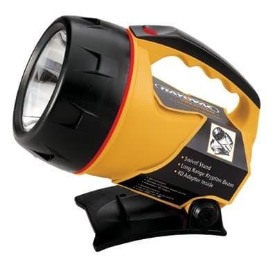 Ray-O-Vac Durable Industrial Flashlight with Krypton Bulb