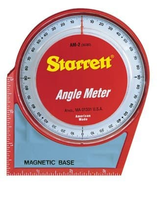 Angle Meter w/ Magnetic Base & Back