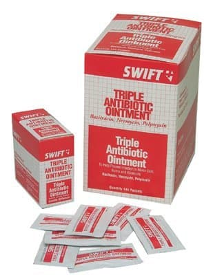 Swift First-Aid Individual Packets Triple Antibiotic Ointment