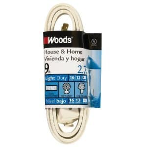 9FT Household Extension Cord