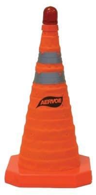 Aervoe Hi-Viz Orange Nylon Collapsible Safety Cone