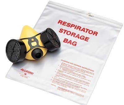 Large Zippered Respirator Storage Bag