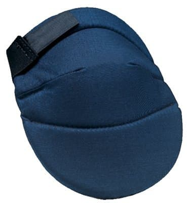 Blue Deluxe Soft Kneepadsd with Elastic Straps
