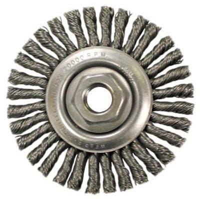 "4"" Carbon Steel Knot Wheel Brush"