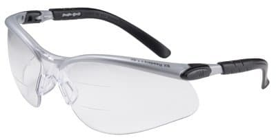 Silver/Black BX Dual Reader Safety Eyewear