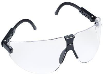 Black Polycarbonate Lexa Safety Eyewear