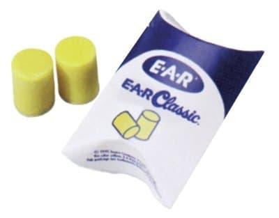 E-A-R Flame-retardant Classic Foam Earplugs