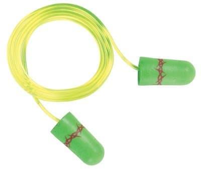 Neon Green Corded Next Tattoo Earplugs