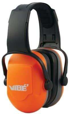 29 dB Black H70 Vibe Earmuffs w/Headband
