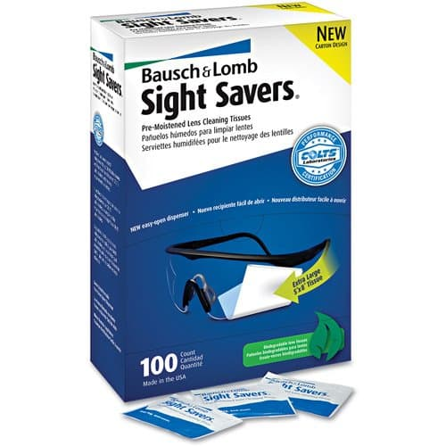 Pre-Moistened Lens Cleaning Tissues