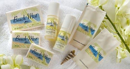 VVF Amenities 1.5 oz Beach Mist Travel Face & Body Bar Soap