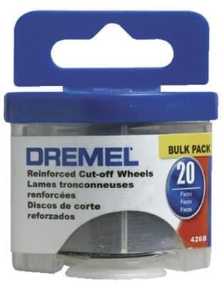 Dremel 20 Piece Fiberglass Reinforced Cut-Off Wheels