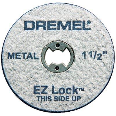 Dremel 5 Piece Heavy Duty EZ Lock Metal Cut Off Wheels