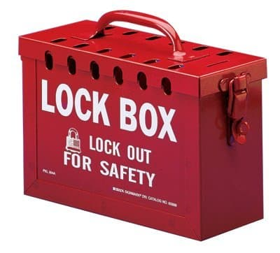13 Lock Red Safety Series Latch Tight Lock Boxes