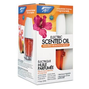 Bright Air Hawaiian Blossoms/Papaya Electric Scented Oil Air Freshener Diffuser