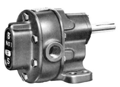 BSM Pump 5.5 lb B-Series Pedestal Mount Gear Pump