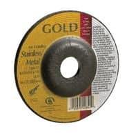 """Carborundum 4"""" Gold Aluminum Oxide Type 27"""