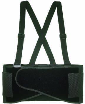 Elastic Back Support Belt Size Medium with Velcro Fastener