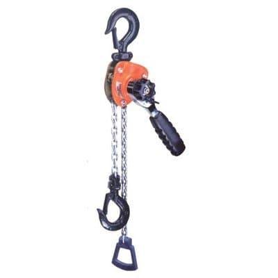 Mini Ratchet Lever Hoist with Forged Hooks
