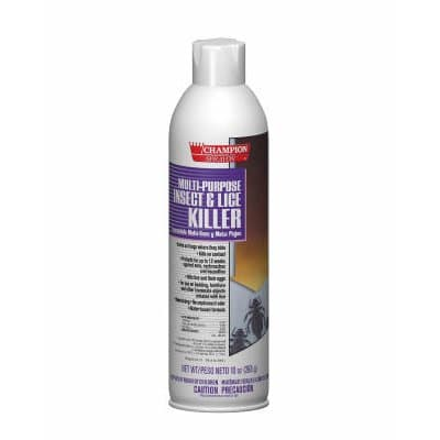 Chase 10 oz Champion Sprayon Multipurpose Insect & Lice Killer
