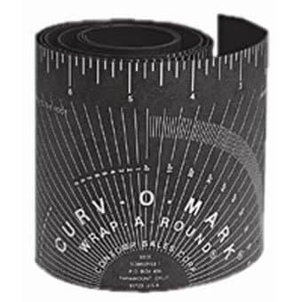 Black Medium Wrap-A-Round Ruler