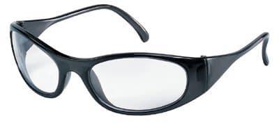 Black Frame Clear Lens Frostbite2 Protective Eyewear