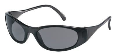 Black Frame Gray Lens Frostbite2 Protective Eyewear