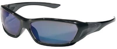 Black Frame Blue Diamond Lens ForceFlex Protective Eyewear