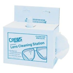 Spray & Tissue Disposable Lens Cleaning Station