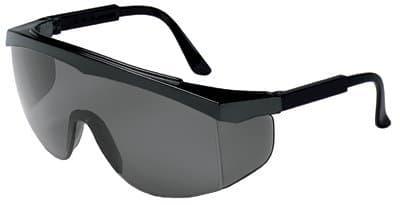 Stratos Spectacles Black Frame Gray Lens