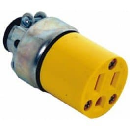 Cooper Wiring 15 Amp Armored Straight Connector