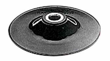 """Steel Reinforced Rubber Backing Pad with 5/8""""-11 Locking Nut"""