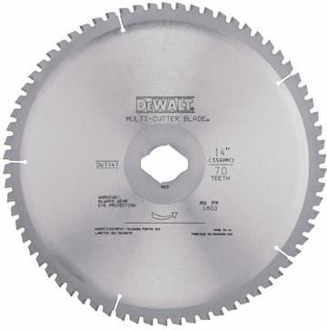 """14"""" 70T Heavy Gauge Ferrous Metal Cutting Blade"""