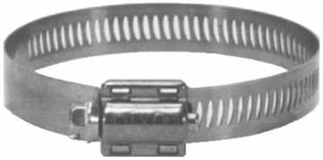 1 9/16-in - 2 1/2-in HS Series Worm Gear Clamp
